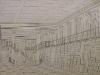 Zeichnung Bibliothekssaal Speersort