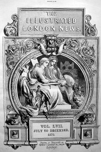 "Leighto Illustration aus The ""illustrated London News"" von  1870 aus den Beständen des Joahnneums"