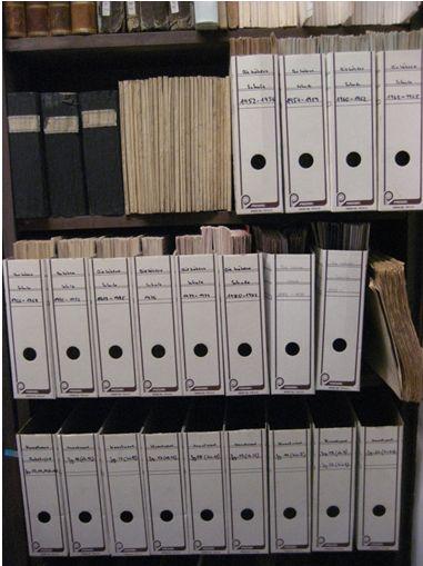 """Zeitschriften im Bestand des Johanneums (""""Die höhere Schule"""", Sig. XXII 125)"""