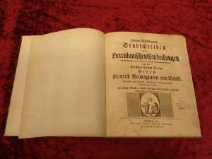 """""""Johann Winckelmann's Sendschreiben von den Herculanischen Entdeckungen."""" Winckelmann 1762"""