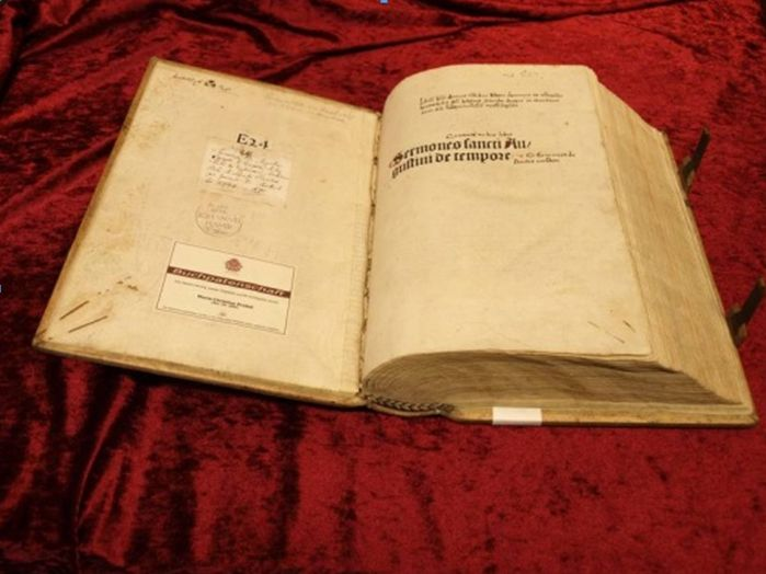 Sermones Sancti Augustini de tempore (1495), Sig. XII 38 w