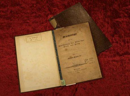 Nachträge zu der Beurtheilung der Börne'schen Briefe aus Paris von Eduard Meyer an Ludwig Börne (1832)