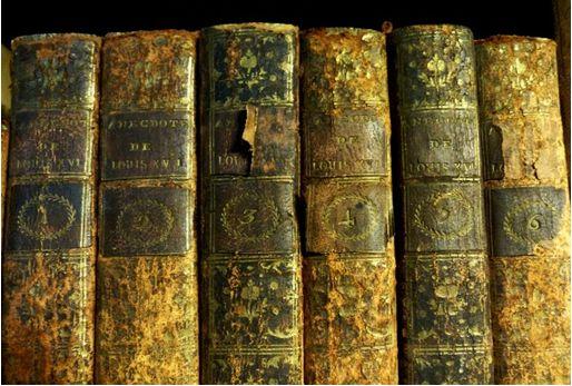 Anecdote du règne des Louis XVI, Bd. 1-6, Paris 1791 (Sig. V 2a 1-6)